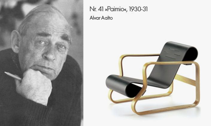 Alvar Aalto is one of the founders and without doubt the most influential designer of the Finnish furniture company Artek. 'Paimio' has also been issued as a Vitra Miniature.