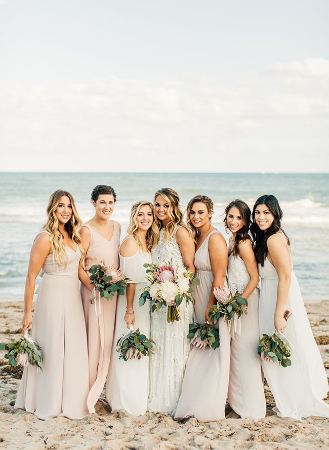 37ef1851385 Refined Tropical Boho Wedding on the Beach - Inspired By This