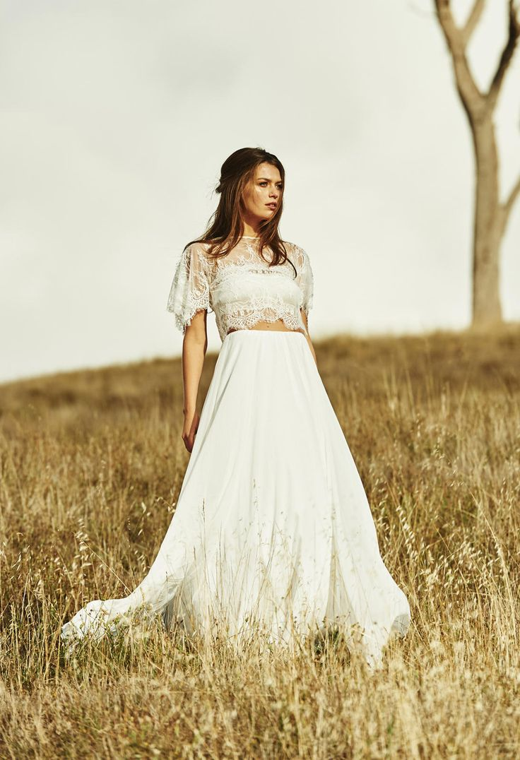 Vestido de noiva estilo Boho chic!                                                                                                                                                                                 Mais