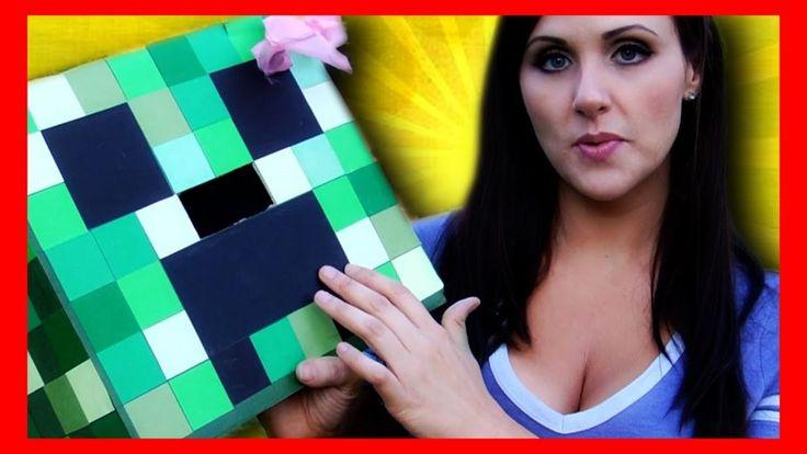 Creeper Head Tutorial - How to Make A Minecraft Creeper Costume