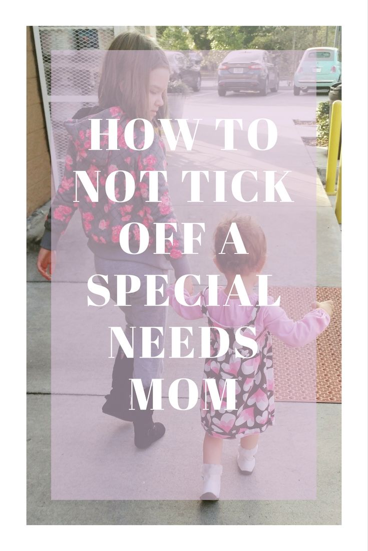 There are many things you can say to comfort a special needs mom. There are also many things you can say to tick them off. Find out some ways you can avoid doing that here..