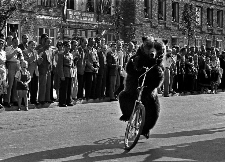 Warszawa, 1955. V Światowy Festiwal Młodzieży i Studentów. Fot. Władysław Sławny
