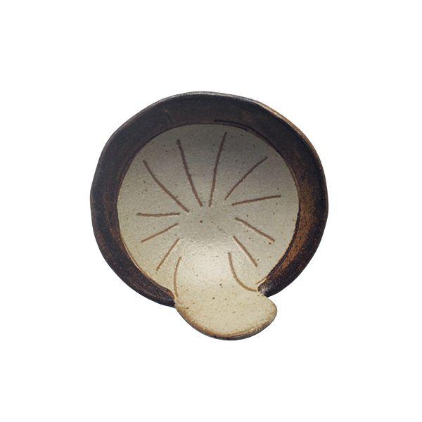 シイタケタタラ小皿Soysauce Dishes, Mushrooms Soysauce