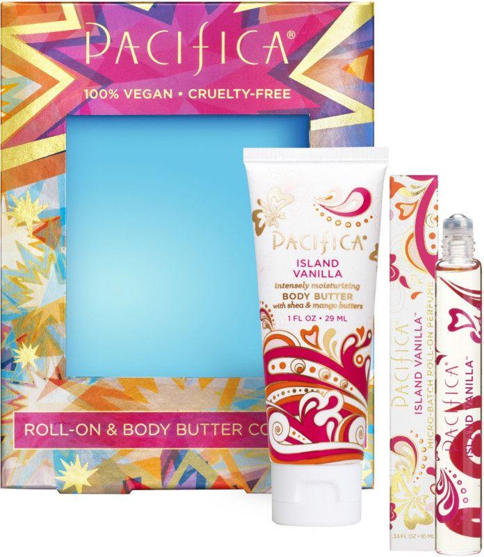 Pacifica Island Vanilla Roll-On & Body Butter Set