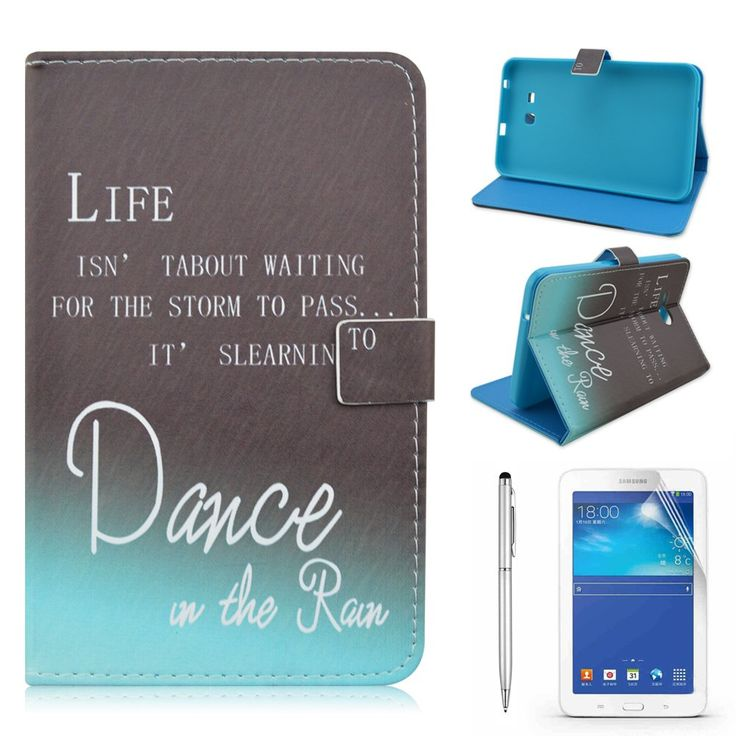 Amazon.com: Samsung Tab 3 Lite 7.0 Case, Gift-Hero(TM) PU Leather Flip Protective Case Cover with Stand for Samsung Galaxy Tab 3 Lite 7.0 SM-T110 / SM-T111 7.0 Inch Tablet (Colorful Heart): Cell Phones & Accessories
