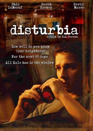 Disturbia with Shia Lebouf. its got everything a great movie needs, romance suspense, murder, a hilarious asian..... its just great
