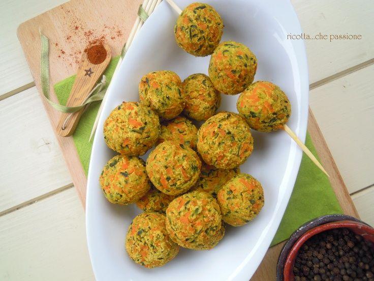 Polpettine di zucchine e carote
