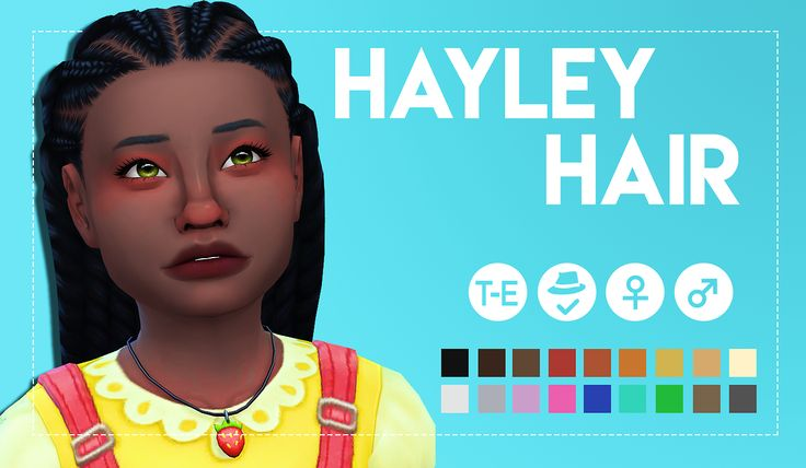 """weepingsimmer: """"  Hayley Hair  So since I fricking failed at all my other wips because I have no patience, I decided to finish editing away the clips on this hair from the parenthood pack. And I honestly think it turned out to look really cute..."""