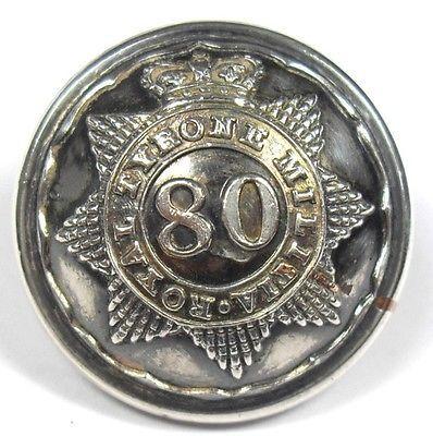 Royal Tyrone Militia button