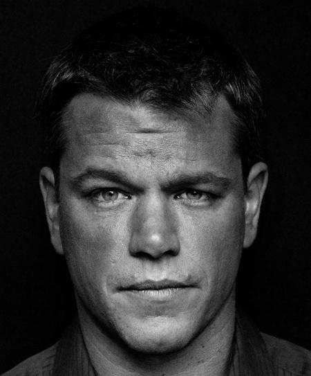 Matt Damon  por Raphael Mazzucco