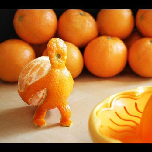 Fun with oranges