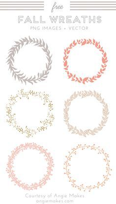 Caída libre de la guirnalda prediseñadas. Guirnalda del vector. Caída de la guirnalda Imágenes y Clip Art. Gráficos gratuitos. Freebies. | angiemakes.com-----Free Fall Wreath Clip Art. Wreath Vector. Fall Wreath Images and Vector Clip Art. Free Graphics. Freebies. | angiemakes.com