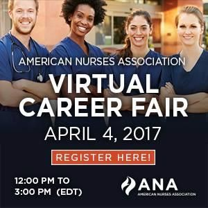 Looking to make a change in your career? Connect with top healthcare employers for free at the American Nurses Association's Virtual Career Fair on April 4. Looking forward to seeing you! #nurse #nursing #RN #nurses #ilovenursing #gifts #nurse practitioner #all nurses #nursing programs #travel nursing #accelerated nursing programs #cns #nursing jobs #nursing school