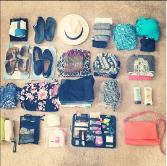 What to pack for 30 days in South East Asia, Thailand, Laos, Cambodia and Vietnam. Backpacking with Contiki!