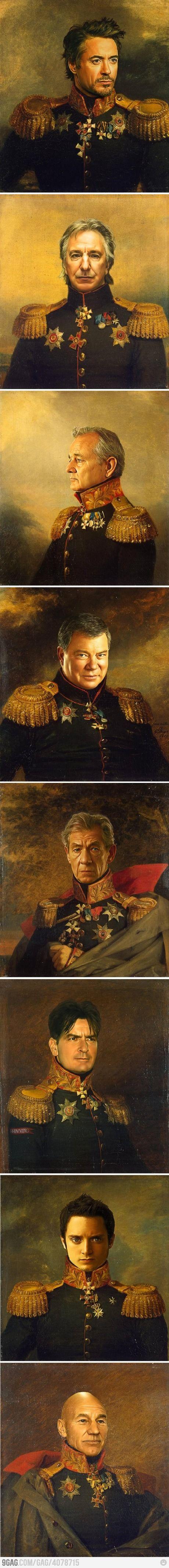 historical figures.