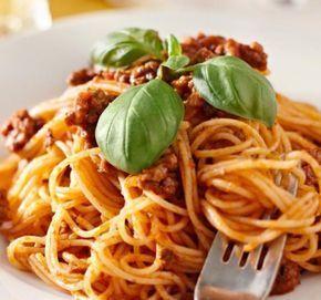 Recept Boloňské špagety