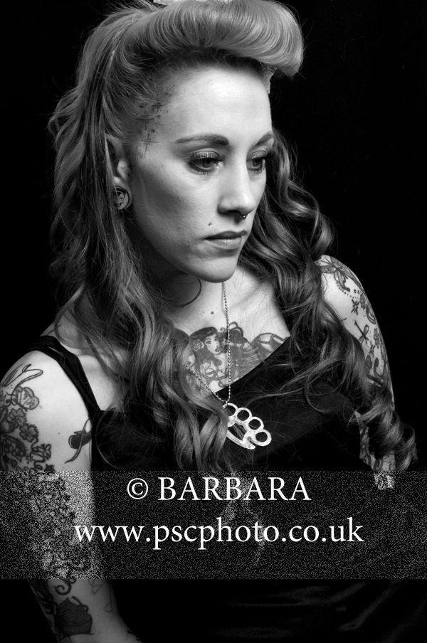 Black/white studio portraits @ PearceScott Creations Studio London W7. Jackie Top Model Winner Ealing gazette and PearceScott Creations 2014. www.pscphoto.co.uk