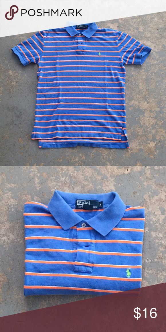 Polo Ralph Lauren Two-Button Mesh Polo Shirt 100% cotton polo, ribbed arm bands. Excellent condition! Polo by Ralph Lauren Shirts Polos