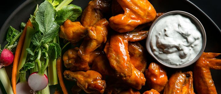 We found a process that's nearly effortless, with no deep-frying, to make perfectly crisp, hot, saucy, wonderfully messy buffalo wings.