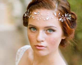 Bruids Vine bruiloft haar accessoire Vine blad door LuluSplendor