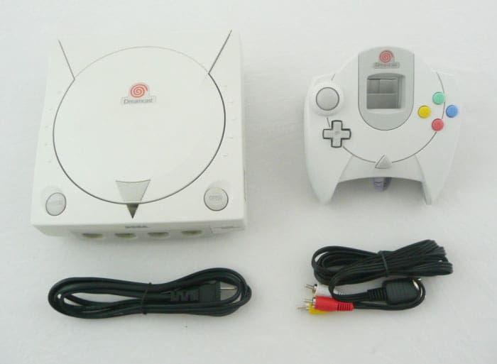 Sega Dreamcast System Console used