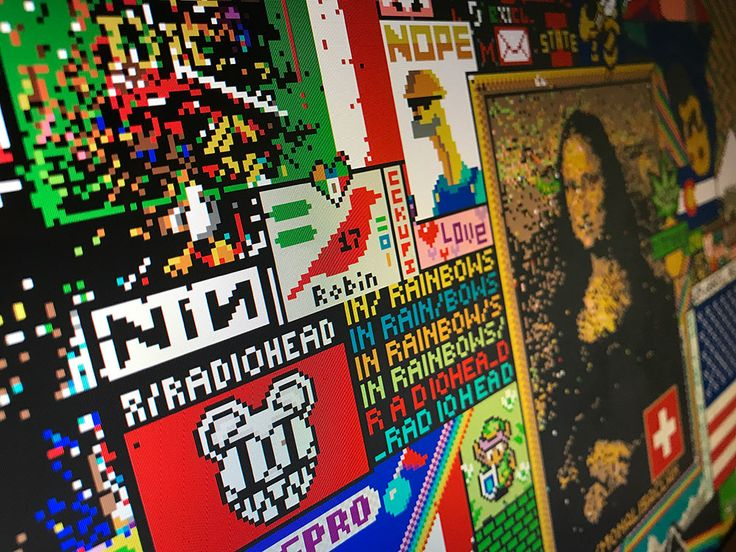 История Места — интерактивного полотна, на котором тысячи воюющих друг с другом участников Reddit вместе попиксельно нарисовали нечто грандиозное.