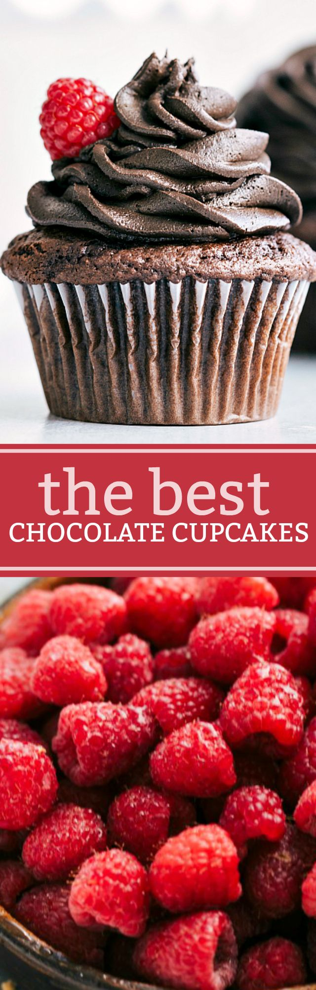 """A """"doctored-up"""" cake mix with the absolute best dark (or milk) chocolate frosting. These cupcakes are easy to make and so rich and fudgy!"""