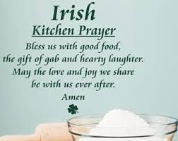 Image result for irish meal blessing