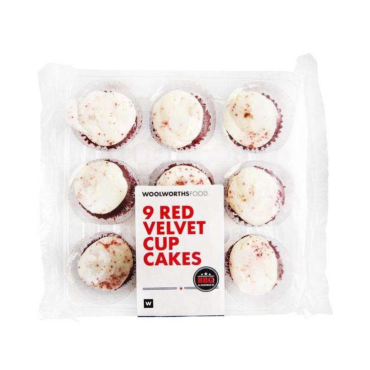 Red Velvet Cupcakes 9Pk