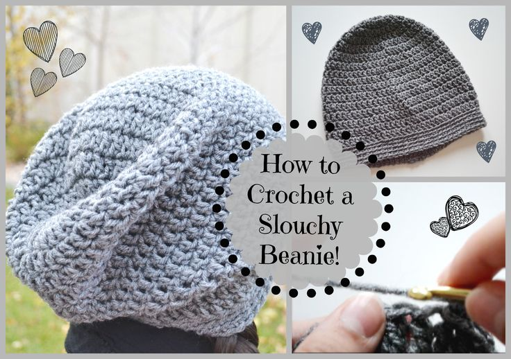 Hi guys! In this video I'll be showing you how to crochet a very easy and cute slouchy beanie. I've noticed that slouchy beanies are quite trendy around this...