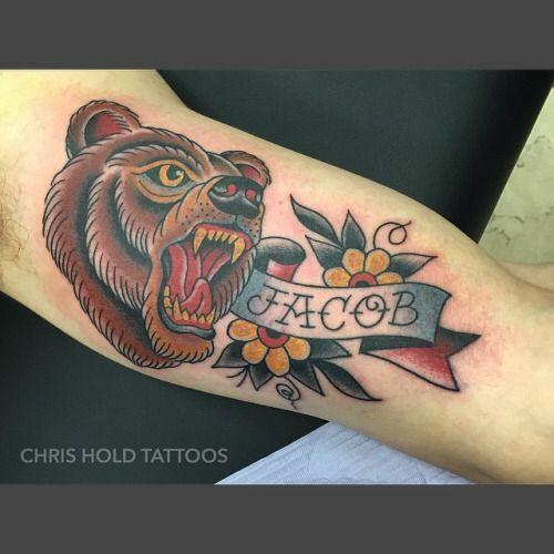 Best 20+ Traditional bear tattoo ideas on Pinterest ...