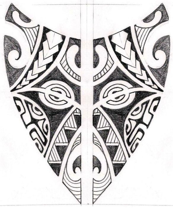 traditional maori tattoos | traditional polinesia.maori tattoo design idea.jpg - Z.L.U.B