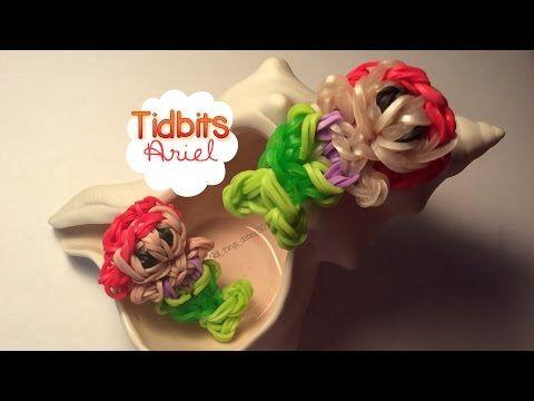 Rainbow Loom Ariel Charm | Tidbits Series - YouTube