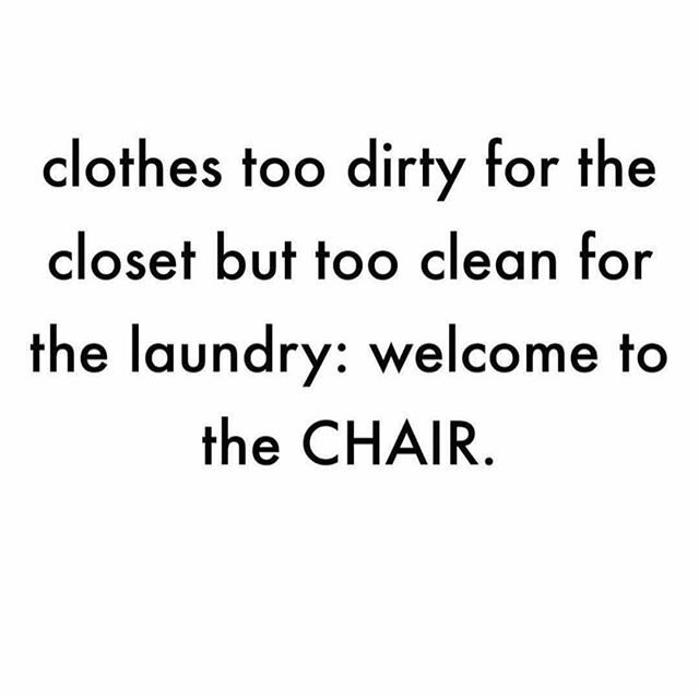 "Omg so trueeeeee hahaha. This is my life. Mum ""WHAT ARE YOU DOING WITH THIS CHAIR!! Chairs are for sitting, not throwing your clothes all over!!"" 😂😂www.kaylaitsines.com/app"