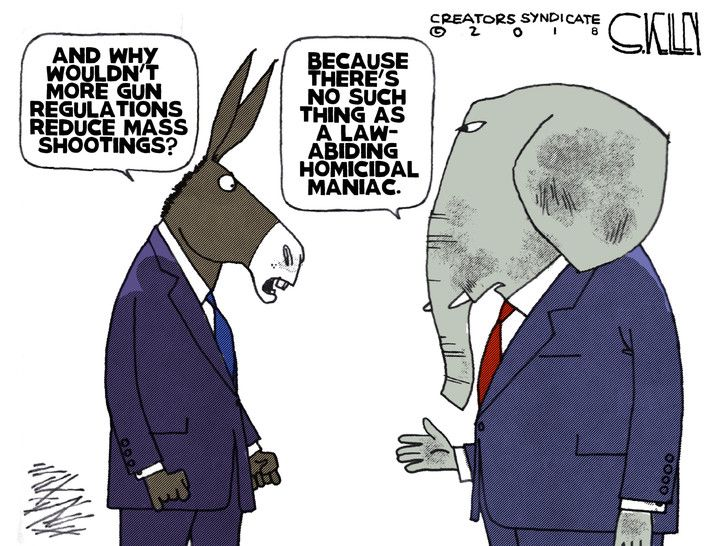Today's Toons 2/19/18 - Pookie's Toons - The Briefing Room