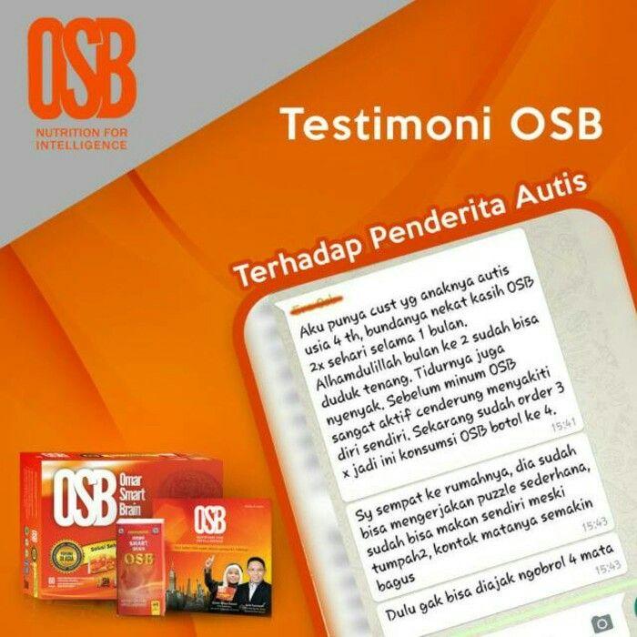 Inilah Manfaat OSB & CD SOFTWARE nya : >Teknik melejitkan daya ingat hingga 300%. >Teknik menyeimbangkan otak kiri & kanan. >Membuat ketagihan belajar. >Teknik menyiasati kepikunan  1pkt OSB Berisi:  1btl OSB (isi 60kapsul)  1pcs CD Materi CD OSB:  1. E-Book Hafal Cepat Bergambar  2. Audio Terapi Kosentrasi & Fokus  3. Audio Terapi Belajar Bahasa Asing  4. Software Otak Kanan  5. Video Book 7 Hari Cerdas Dengan Otak Kanan  6. Audio Terapi Menghilangkan Kebiasaan Menunda  7. Audio Tilawah…
