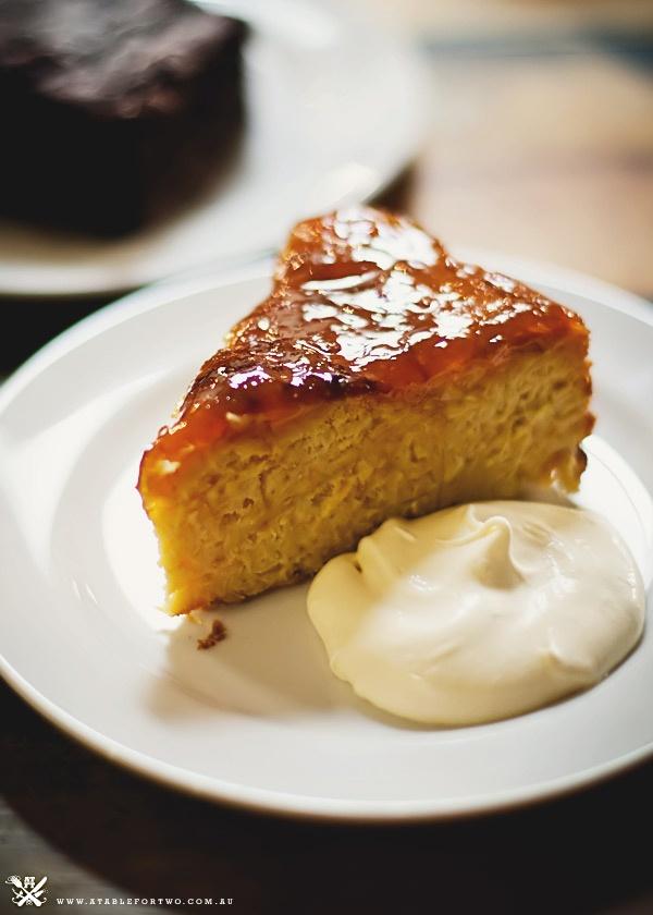 Flourless almond & orange cake with marmalade glaze