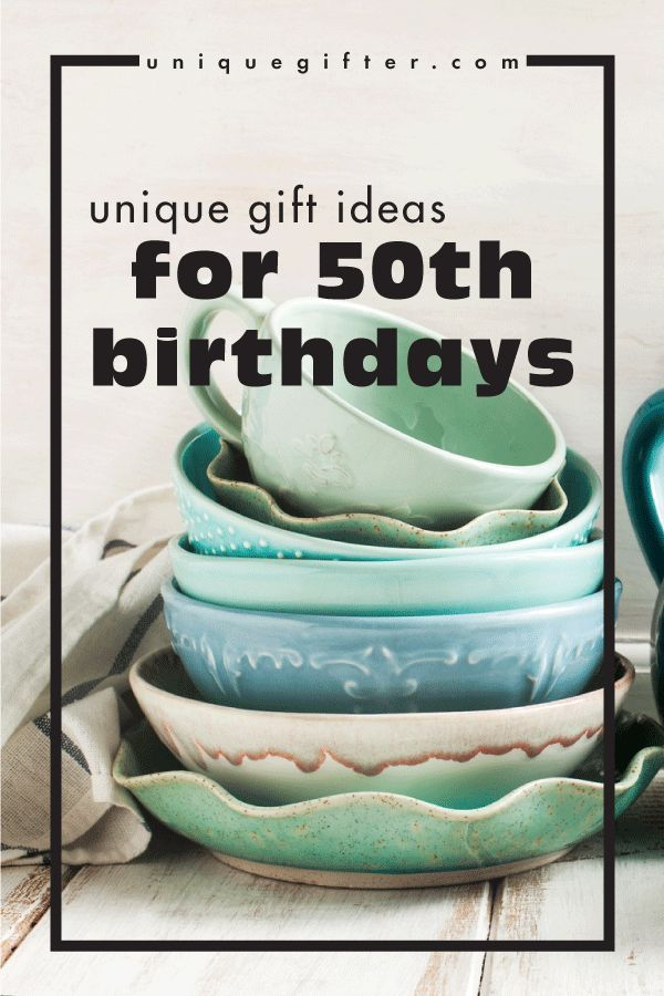 Unique Birthday Gift Ideas For 50th Birthdays 50th