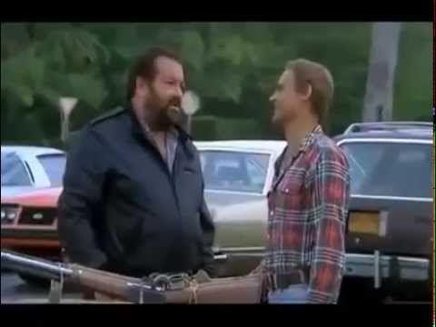 Bud Spencer & Terence Hill - 'Nati con la camicia' Scazzottata all'acquario