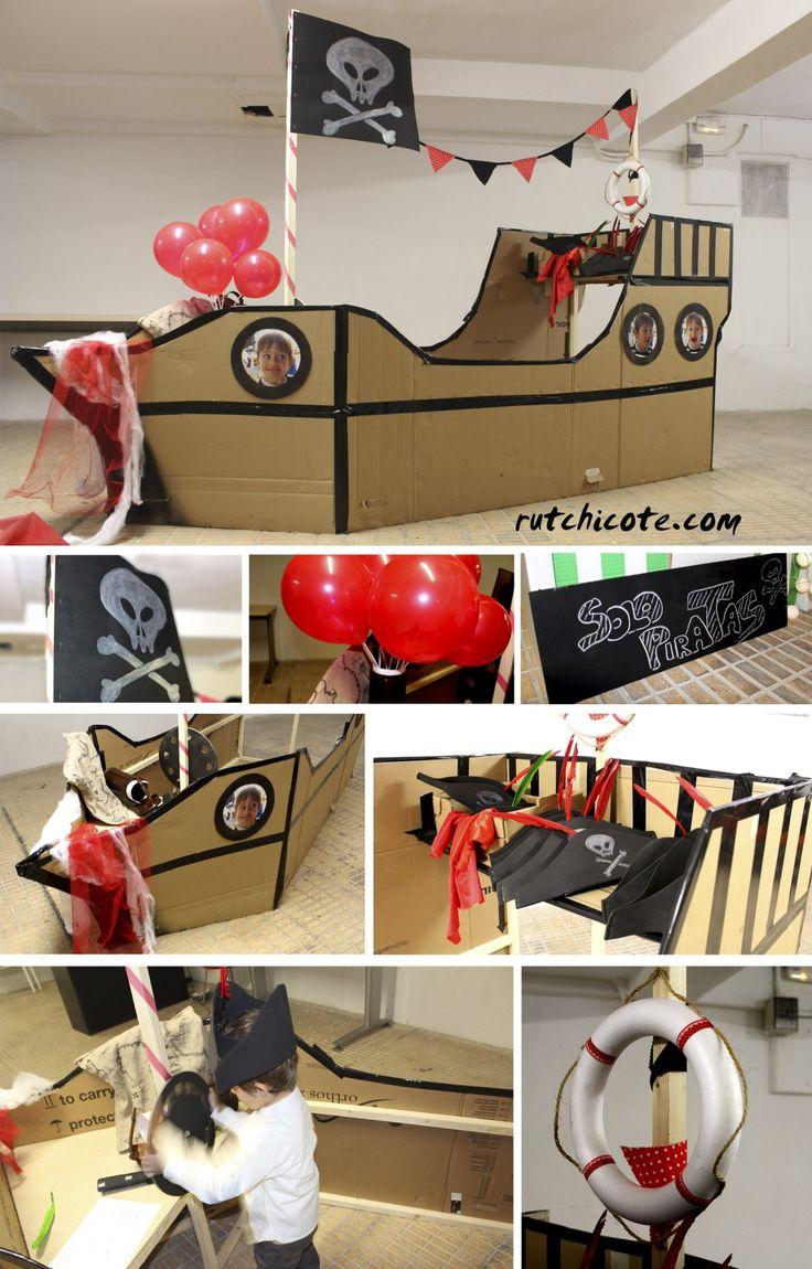 The 25 best barco pirata ideas on pinterest decoracion - Adornos de cumpleanos infantiles ...