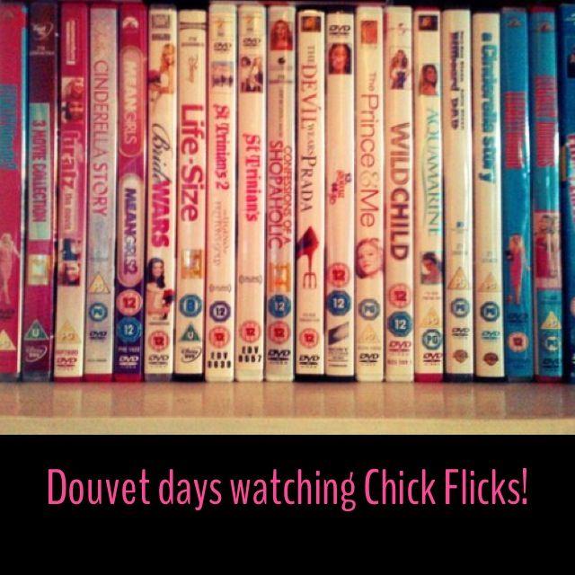 Chick flicks douvet days = Check!