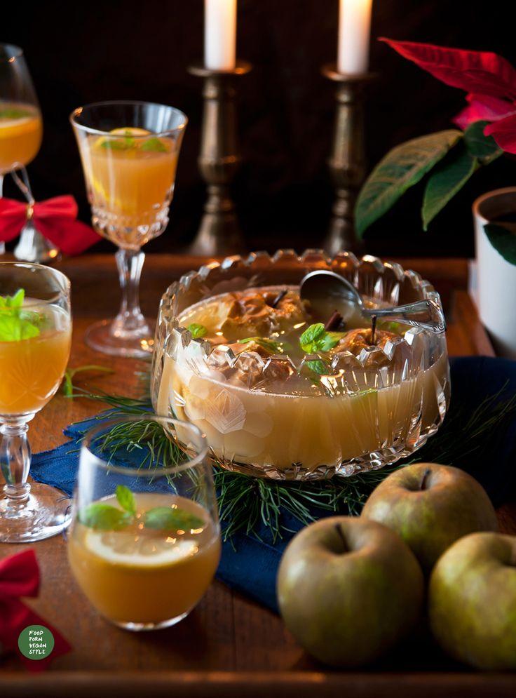 Poncz jabłkowy z ziołami na trawienie / Apple punch with herbs that help digestion