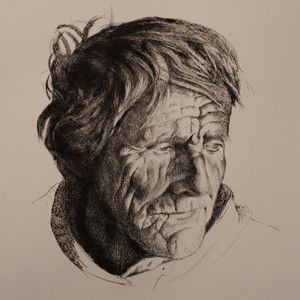 Drypoint etching. For sale at http://www.printsolo.com/store/WatsonTomas