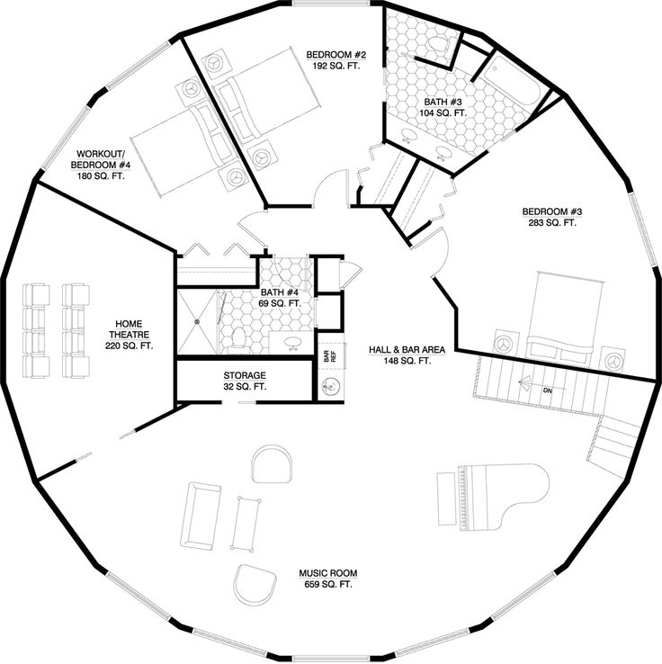 Tornado Proof House Plans