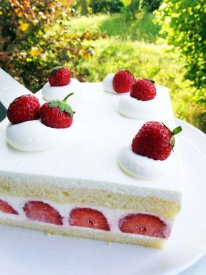 Japanese strawberry short cake