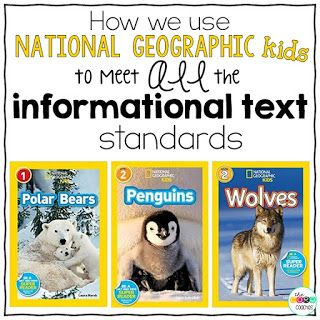 We just love using National Geographic kids informational texts in our classrooms and decided to  pick three great titles for ...