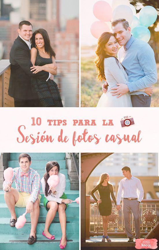 10 Tips para la Sesión de fotos Casual en pareja   El Blog de una novia   #fotografia #novios #casual
