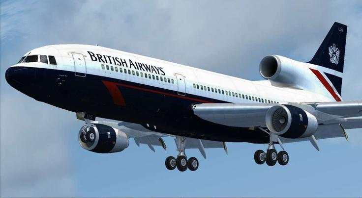 British Airways- L-1011 TriStar