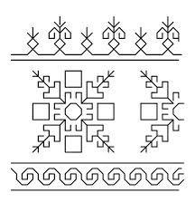 lagartera embroidery - Google Search