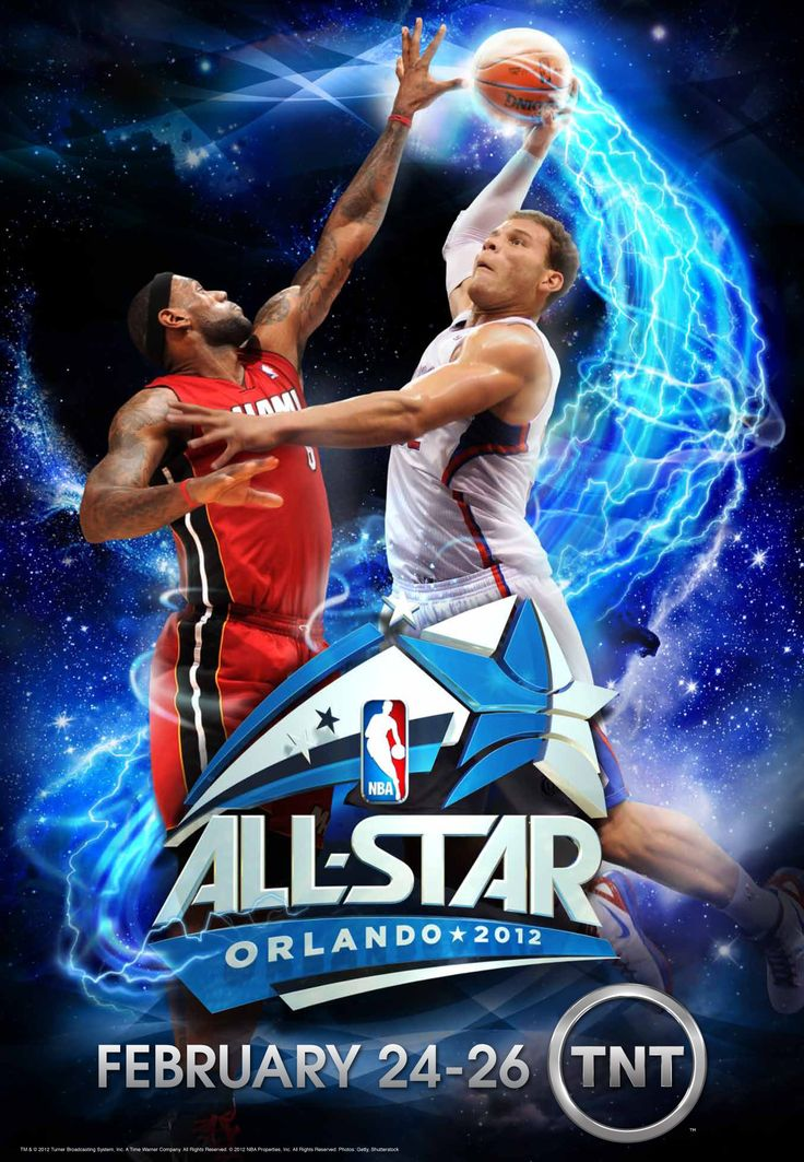 12 NBA_AS_Griffin_poster_proof1 Sport poster